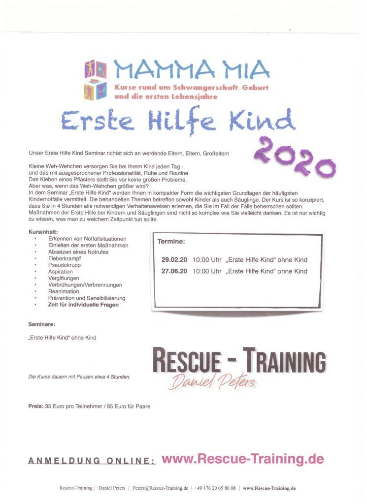 Erste Hilfe Kind